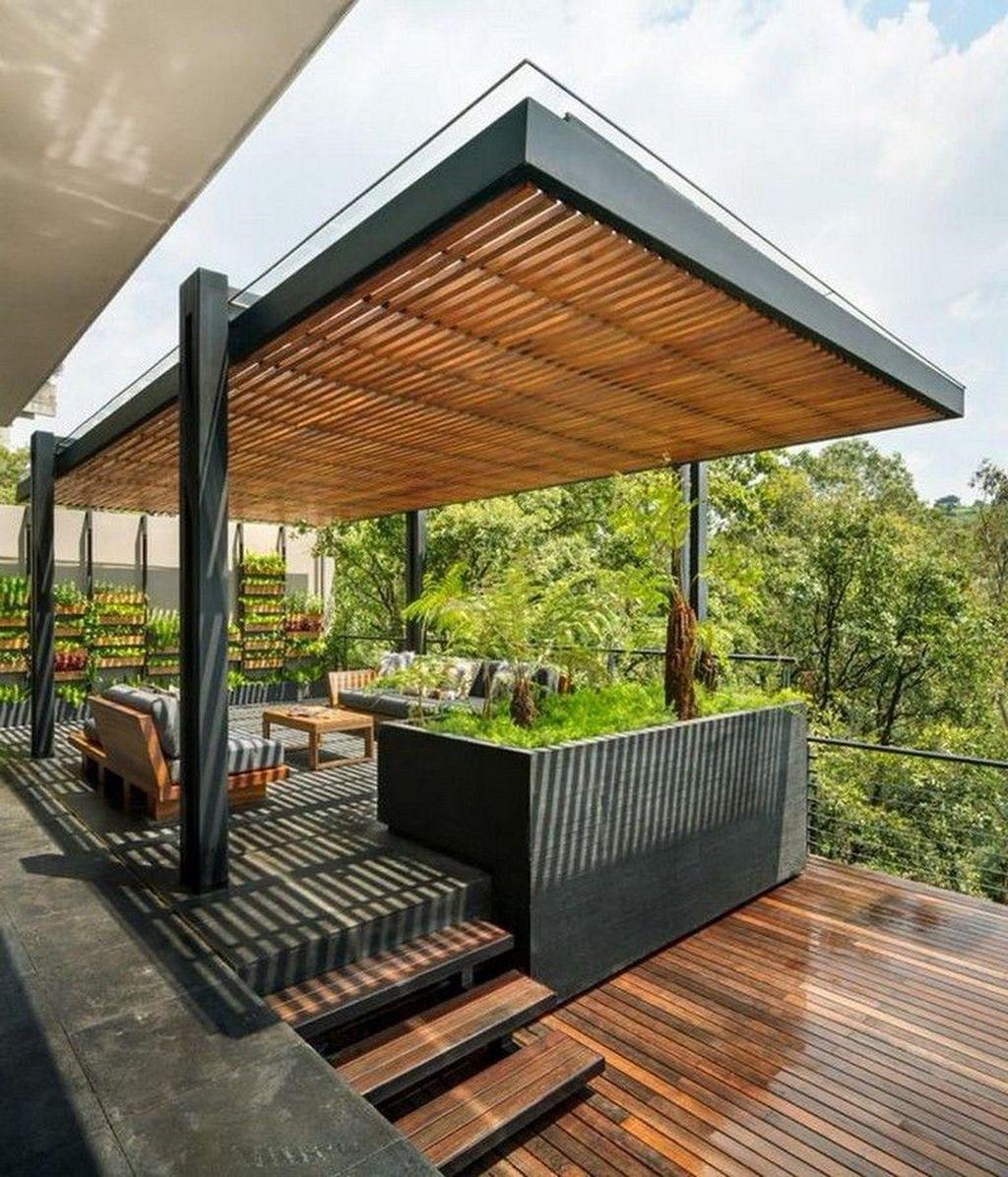 The Best Modern Roof Design Ideas 29