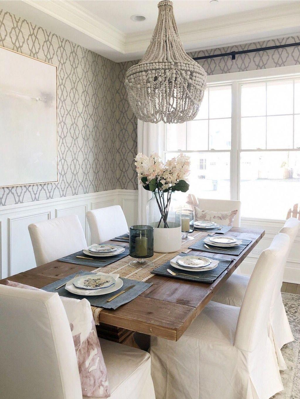 Wonderfull Spring Dining Room Decor Ideas 02