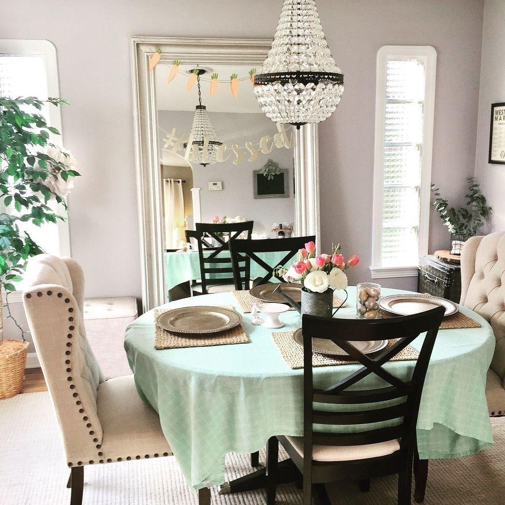 Wonderfull Spring Dining Room Decor Ideas 30