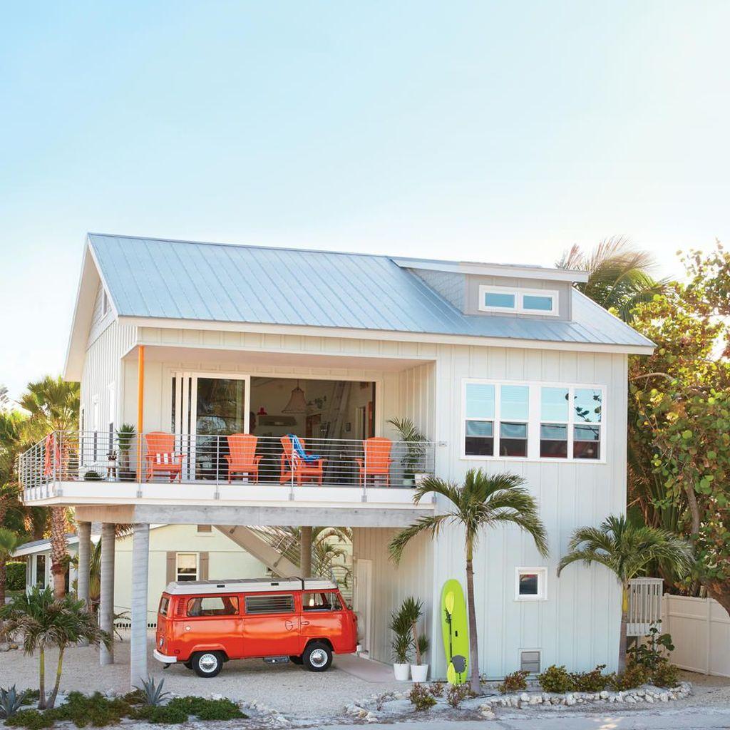 Admirable Beach House Exterior Design Ideas You Will Love 10