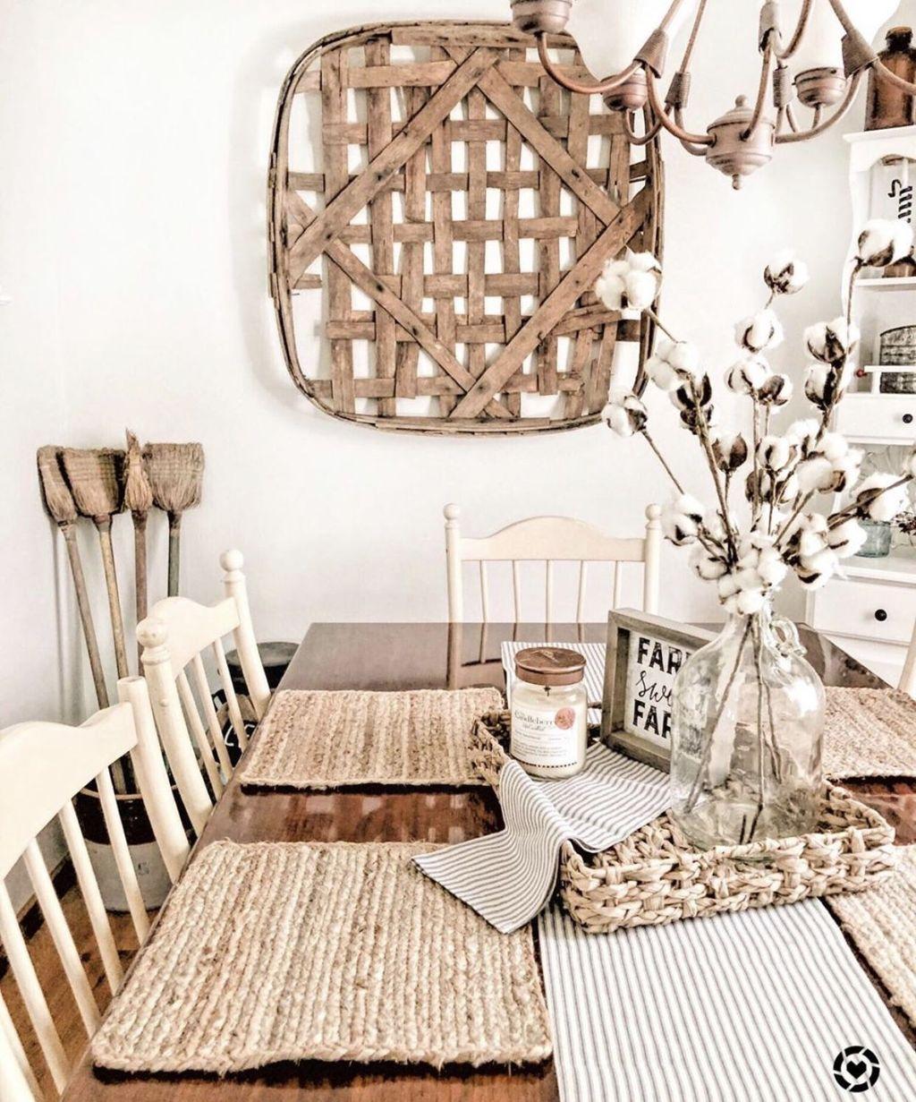 Amazing Farmhouse Dining Room Decor Ideas 08