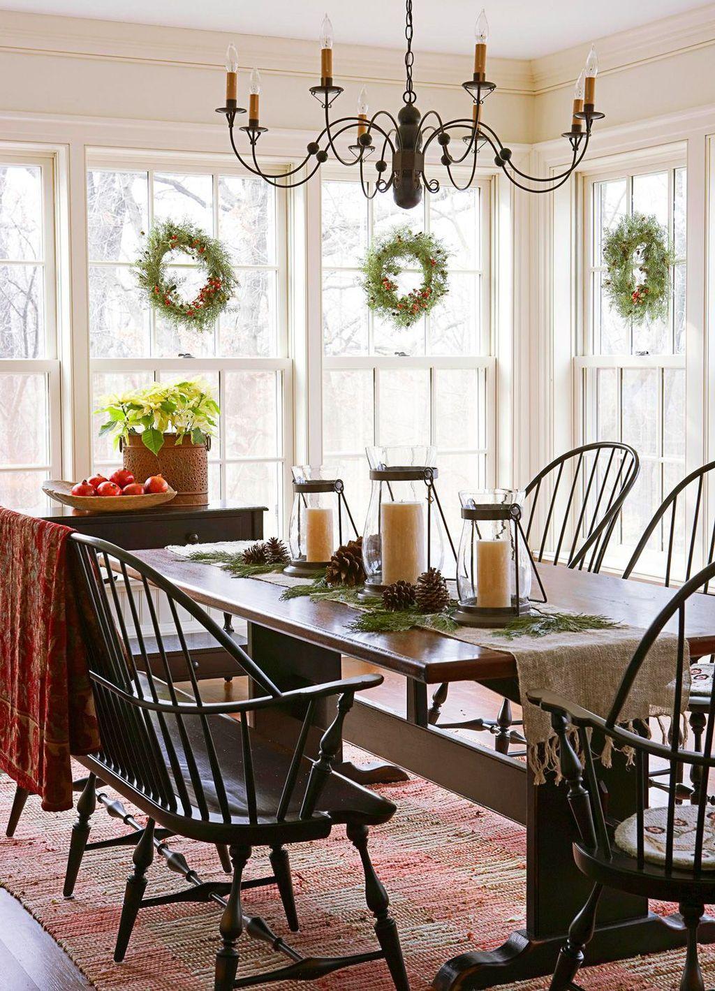 Amazing Farmhouse Dining Room Decor Ideas 17