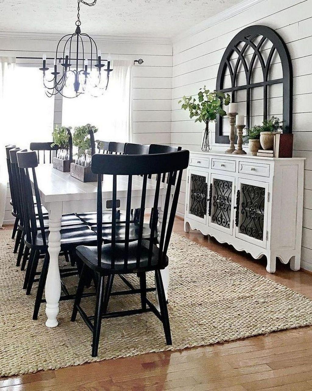 Amazing Farmhouse Dining Room Decor Ideas 24