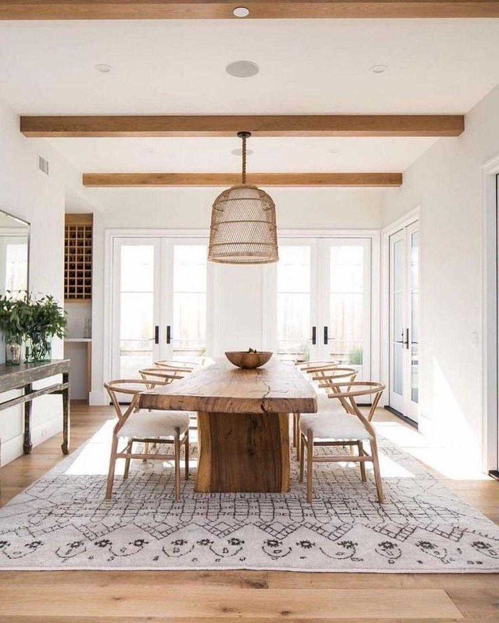 Amazing Farmhouse Dining Room Decor Ideas 30