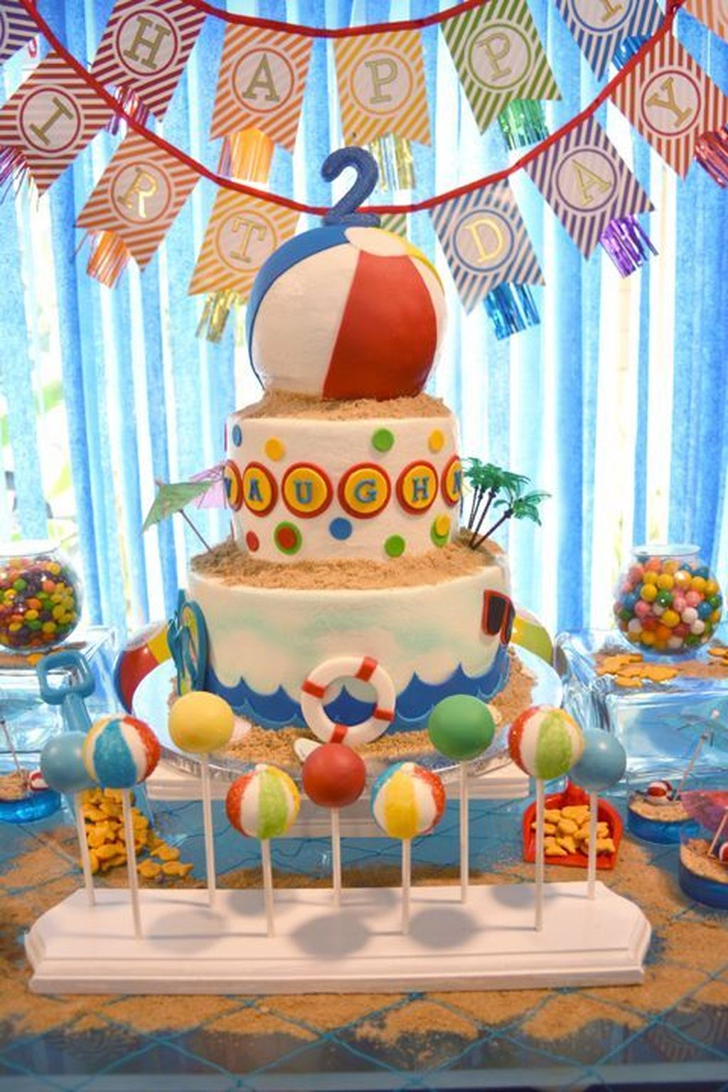 Awesome Beach Theme Party Ideas Perfect For Summertime 05
