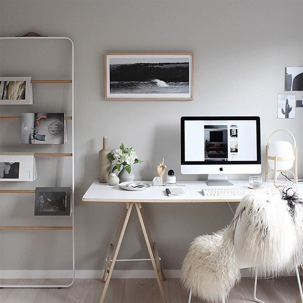 Awesome Scandinavian Home Office Design Ideas You Should Copy 22
