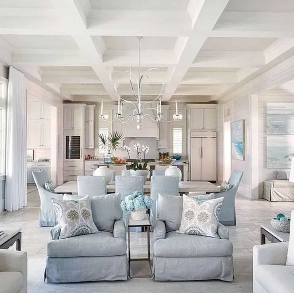 Beautiful Coastal Living Room Decor Ideas Best For This Summer 15