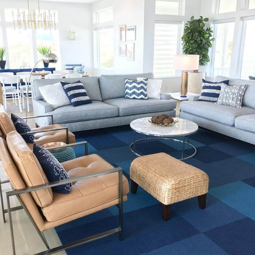 Beautiful Coastal Living Room Decor Ideas Best For This Summer 20