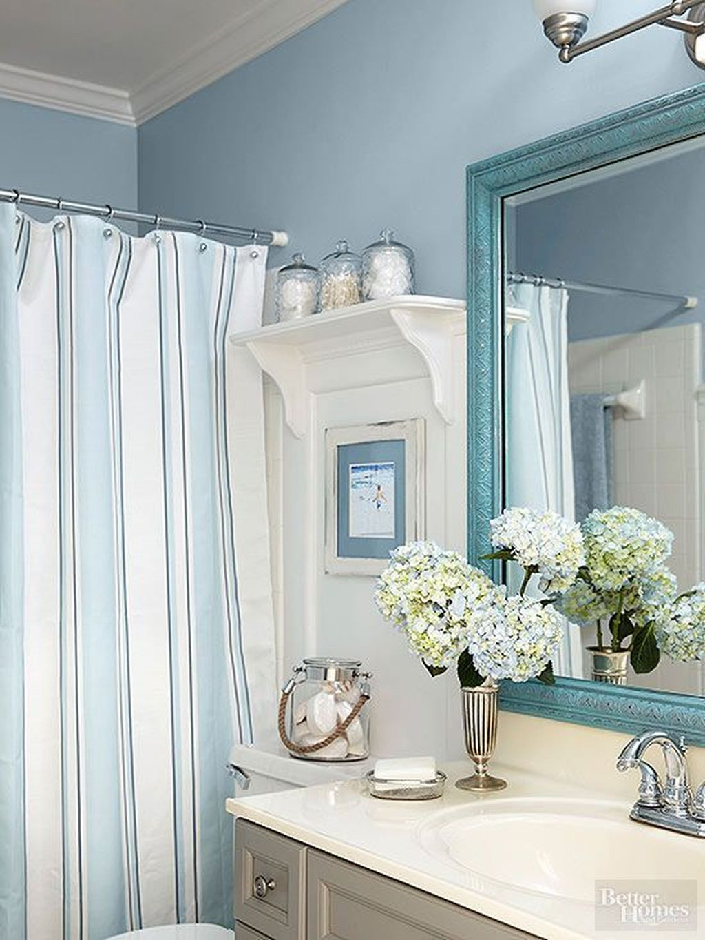 Fabulous Coastal Style Bathroom Decor Ideas 15
