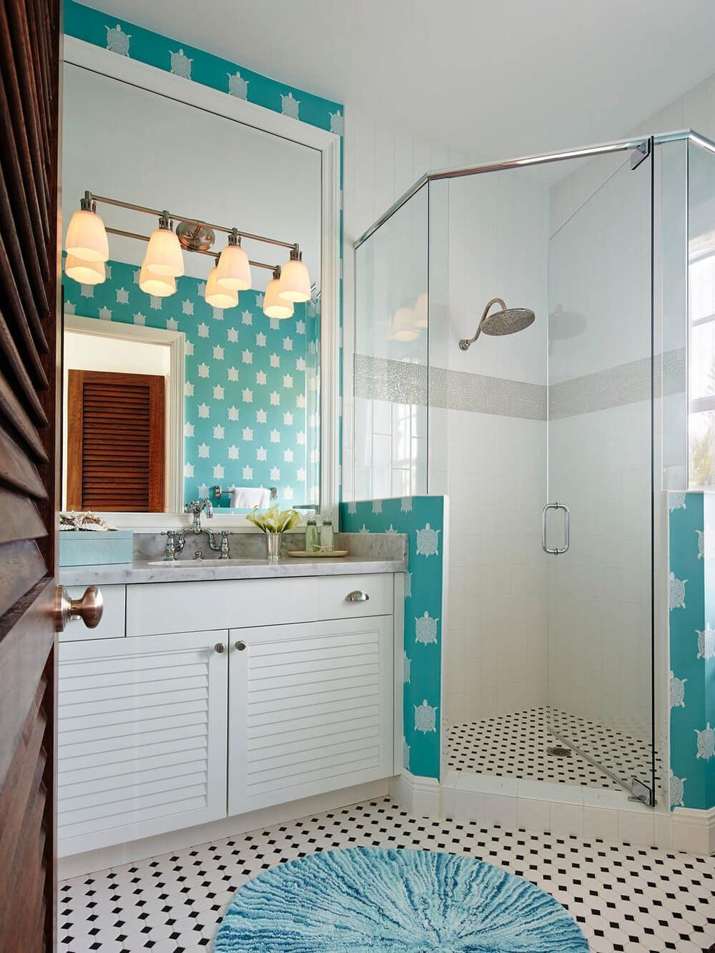 Fabulous Coastal Style Bathroom Decor Ideas 24
