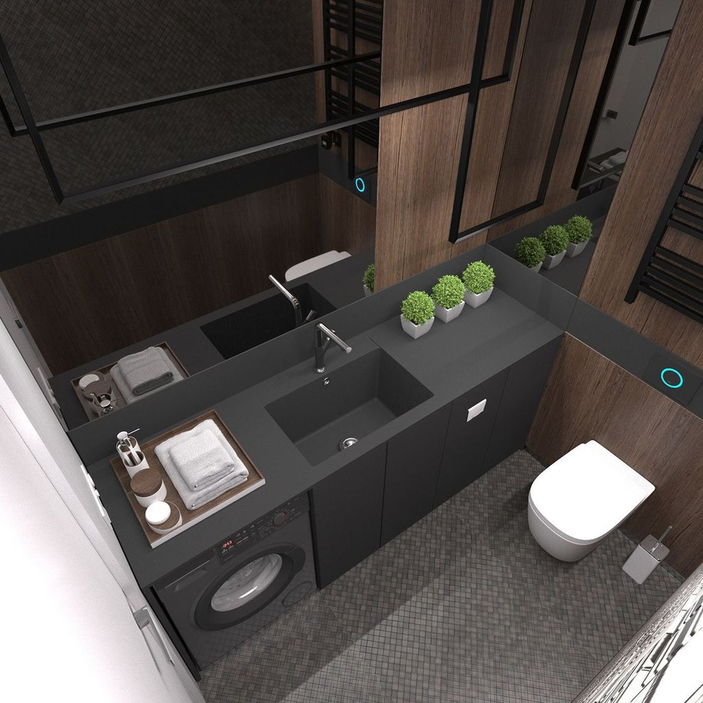 Fabulous Scandinavian Laundry Room Design Ideas 15
