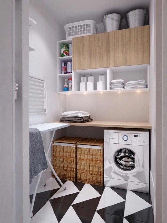 Fabulous Scandinavian Laundry Room Design Ideas 23
