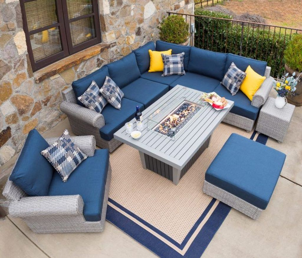 Fascinating Summer Patio Ideas To Beautify Your Garden 13