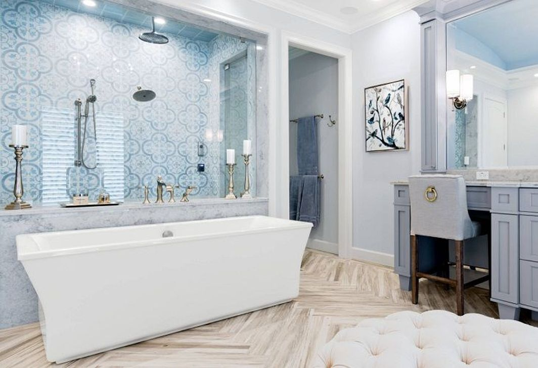 Gorgeous Beach Theme Bathroom Decorating Ideas 16