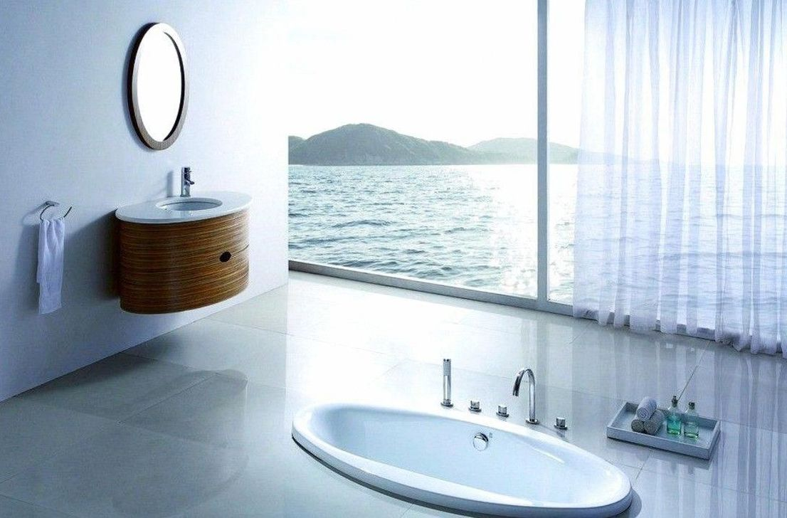 Gorgeous Beach Theme Bathroom Decorating Ideas 32