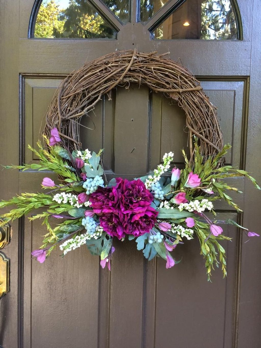 Inspiring Summer Wreath Design Ideas You Should Copy 18