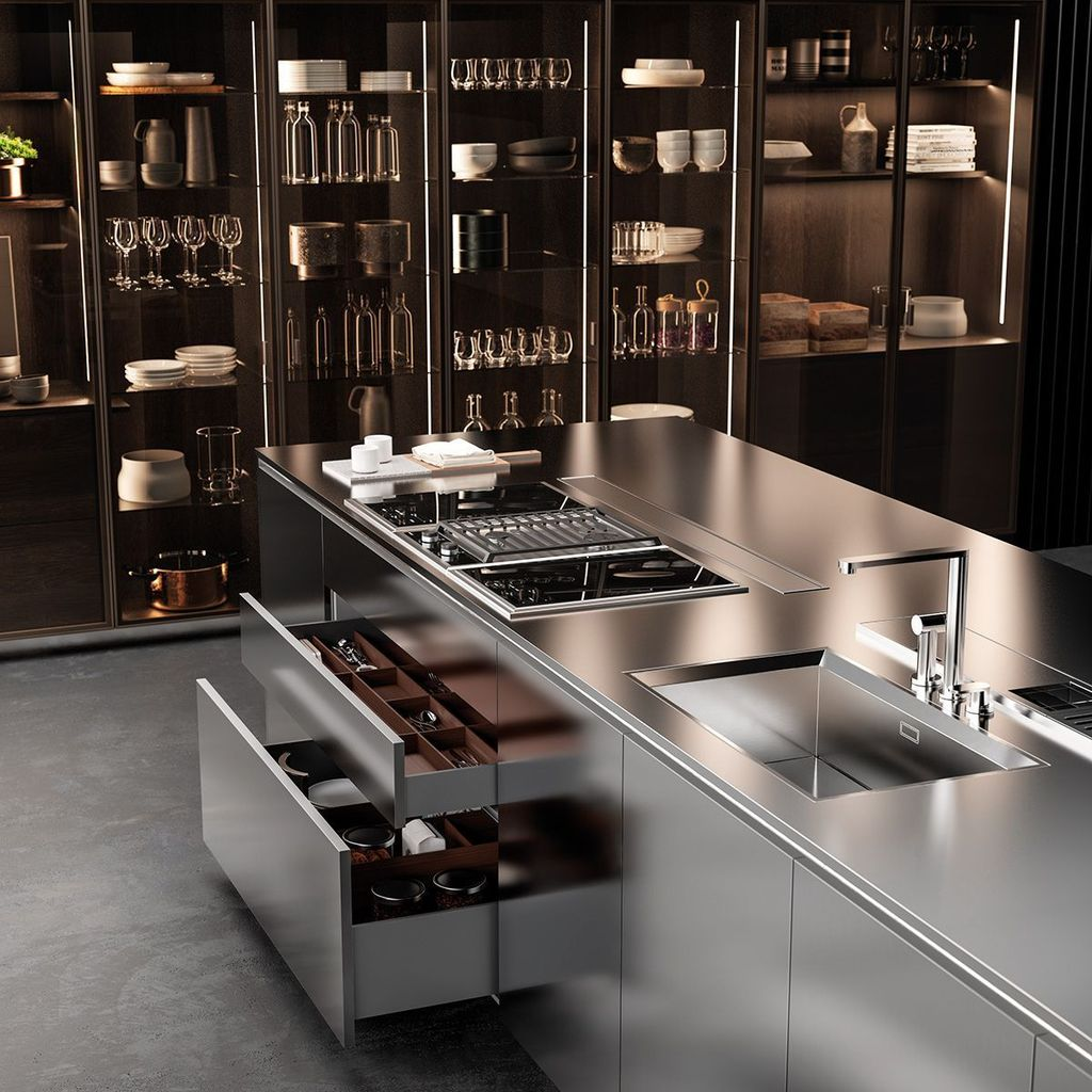 Lovely Luxury Kitchen Design Ideas You Never Seen Before 04