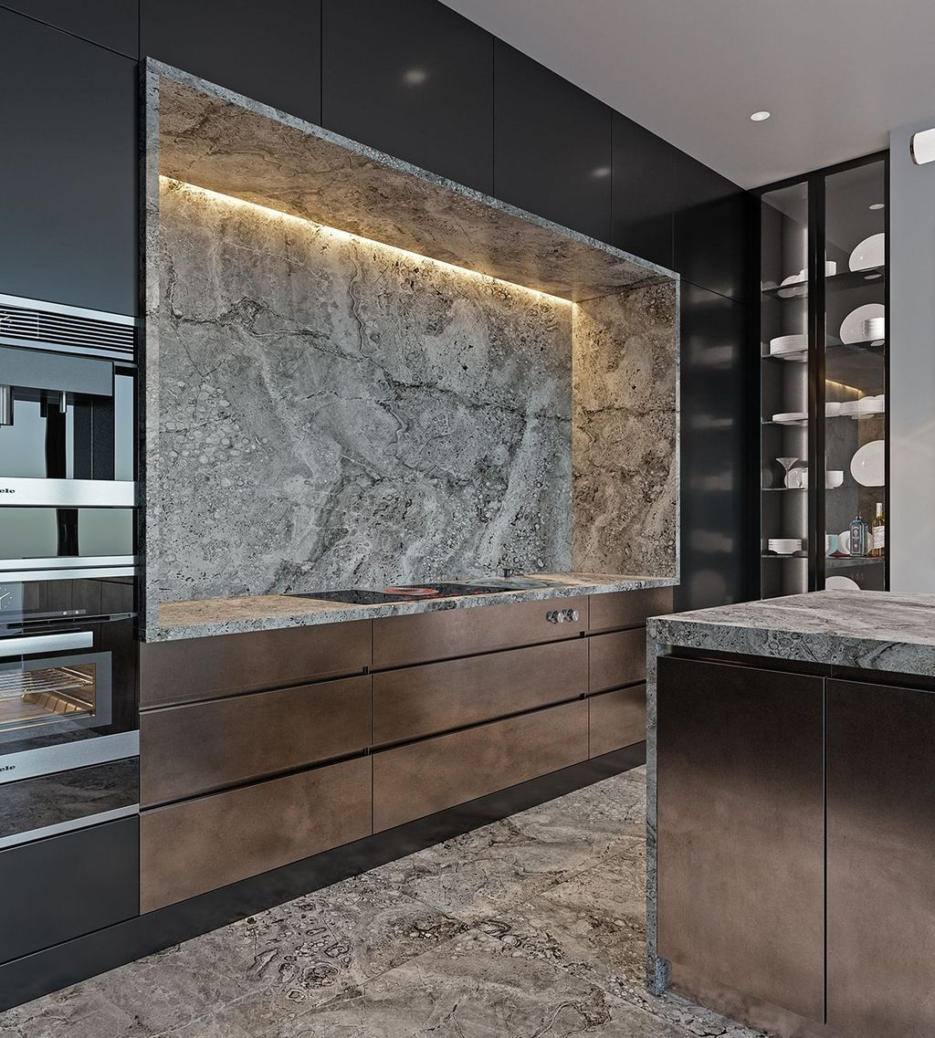 Lovely Luxury Kitchen Design Ideas You Never Seen Before 25