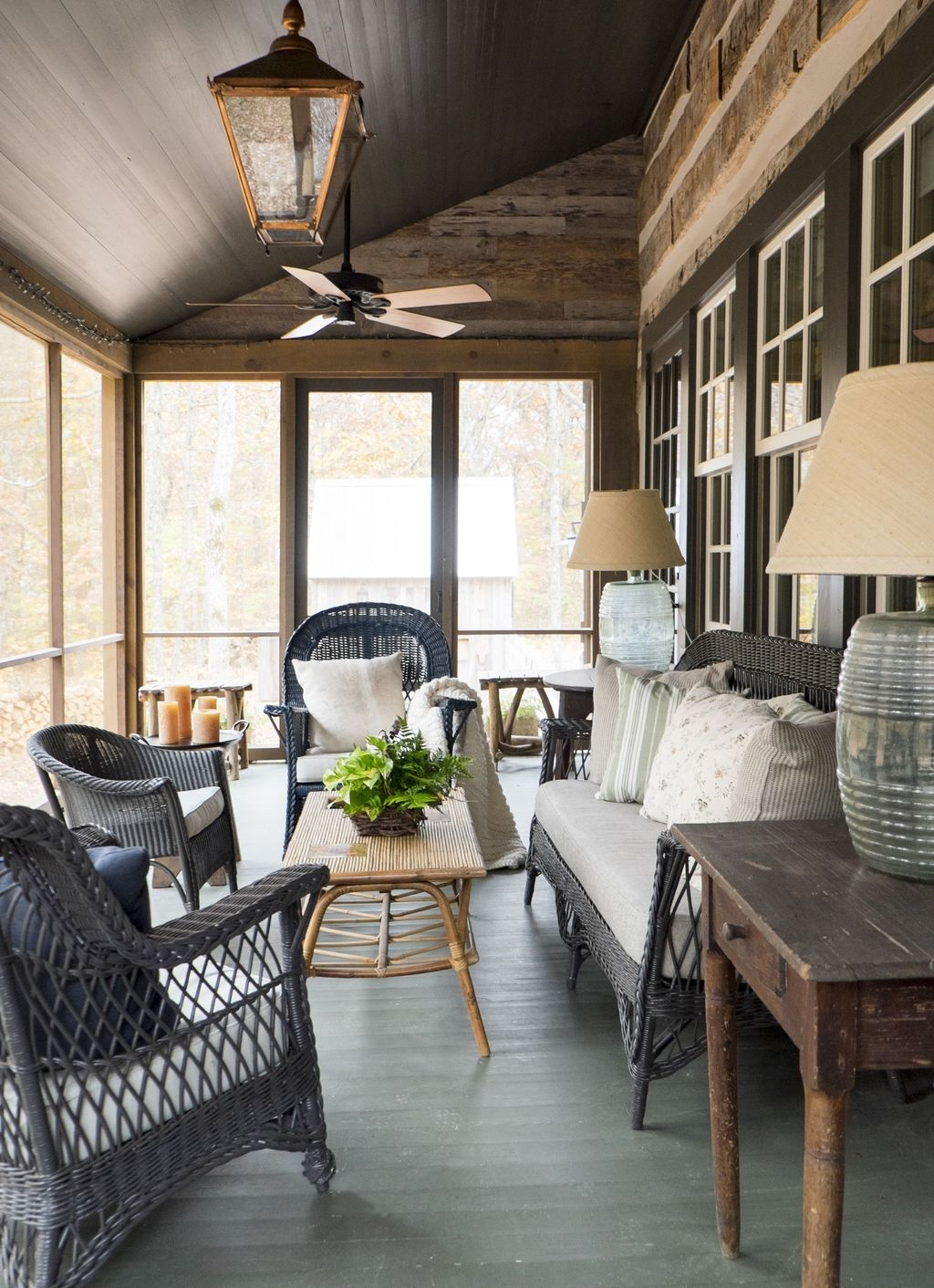 Lovely Rustic Porch Ideas To Beautify Your Home 09