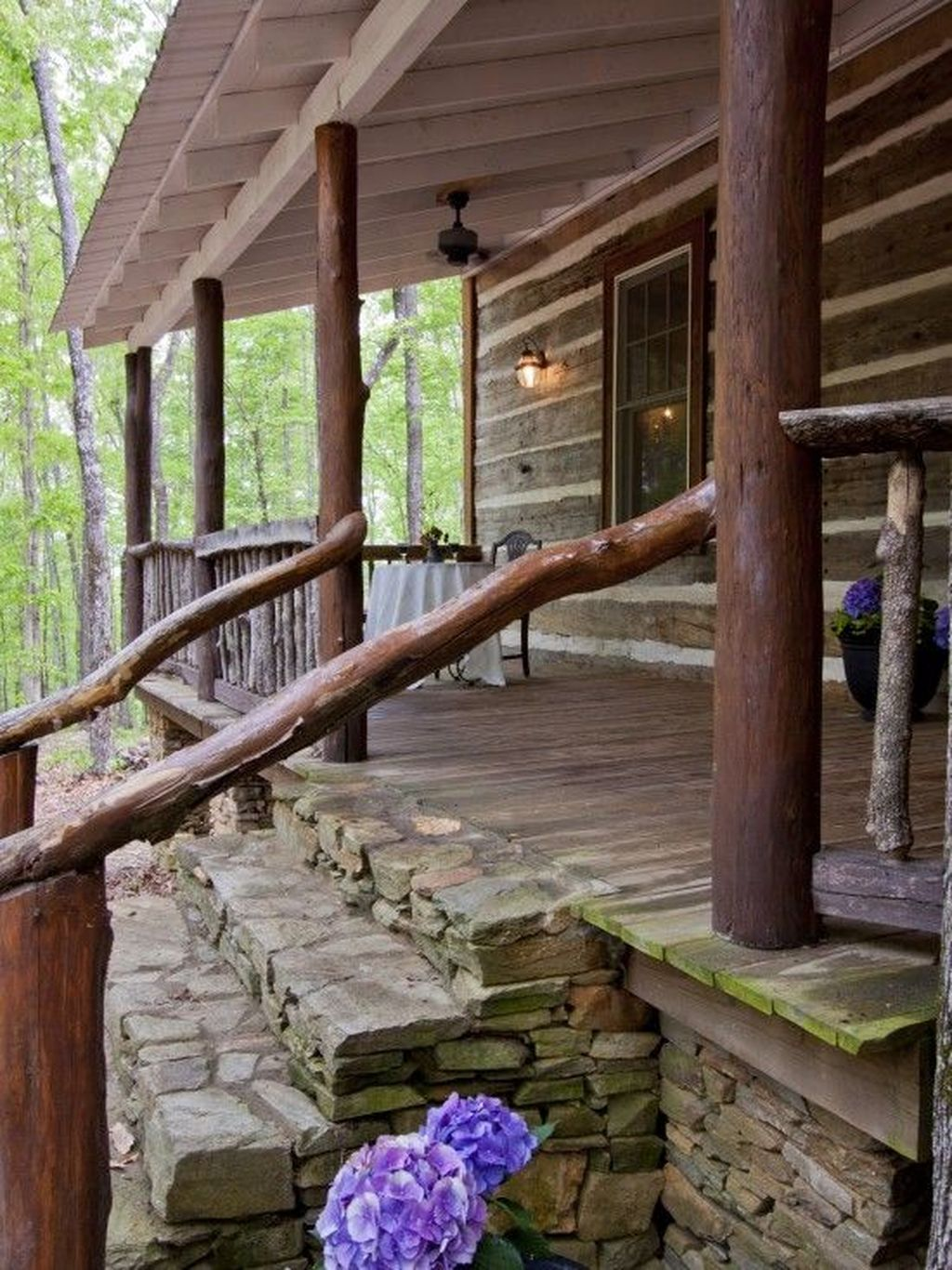 Lovely Rustic Porch Ideas To Beautify Your Home 32