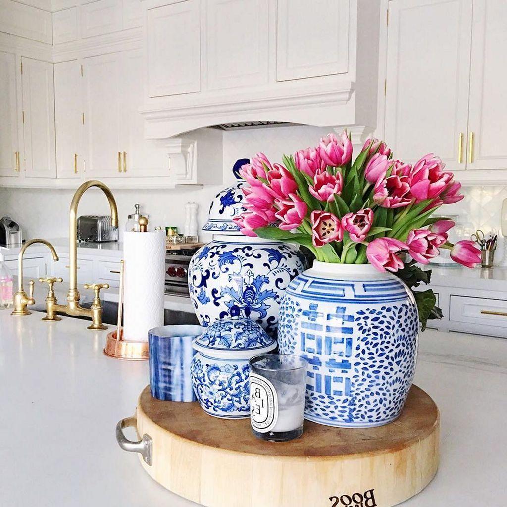 Nice Ginger Jars Decor For Living Room Decoration 29