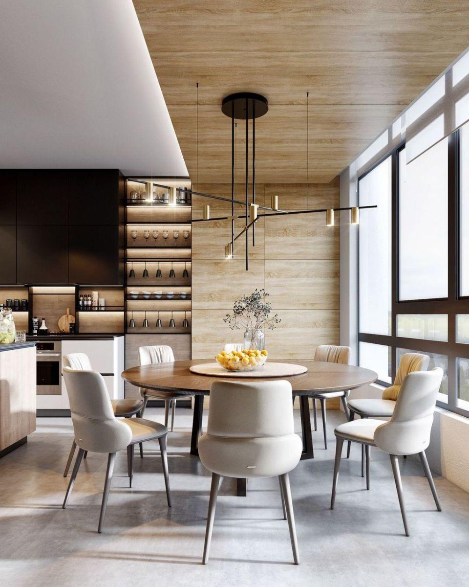Popular Modern Dining Room Design Ideas You Should Copy 06