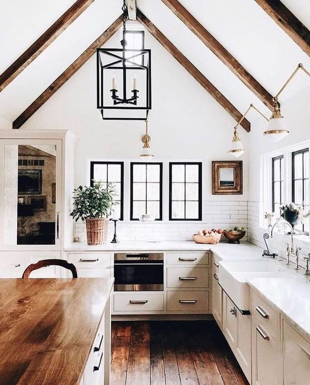 The Best Modern Farmhouse Kitchen Design Ideas 01