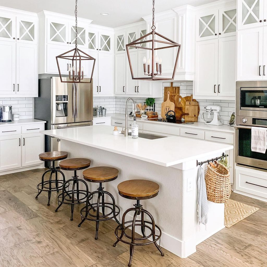 The Best Modern Farmhouse Kitchen Design Ideas 11