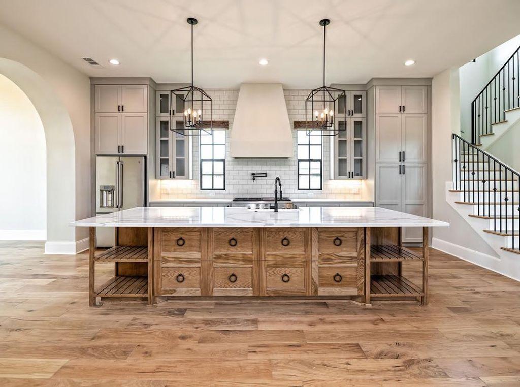 The Best Modern Farmhouse Kitchen Design Ideas 26