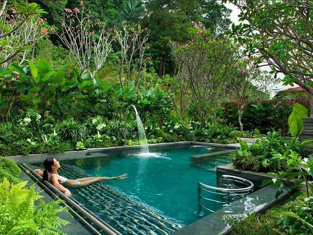 The Best Natural Small Pools Design Ideas You Will Love 08