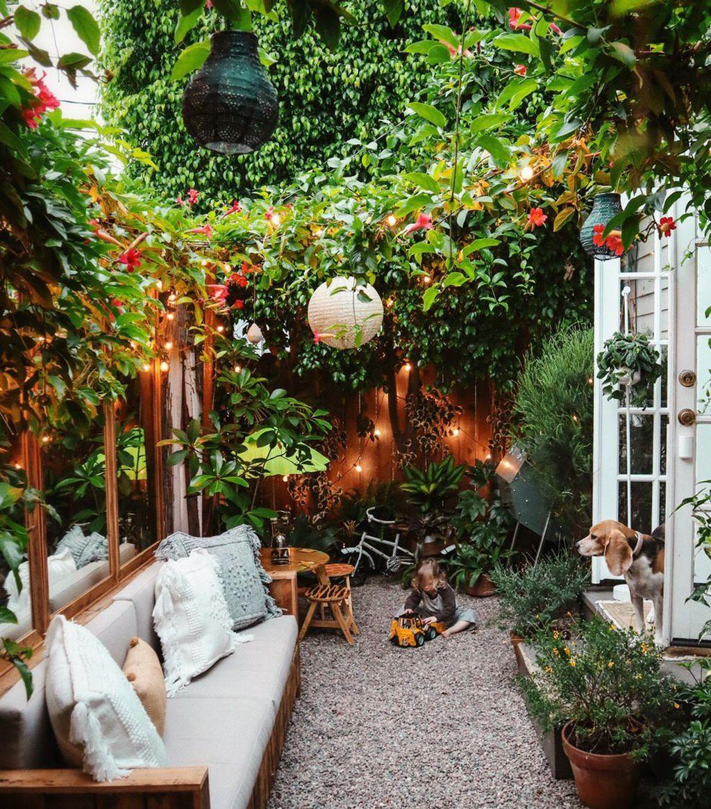 Trending Patio Garden Design Ideas Best For Summertime 12