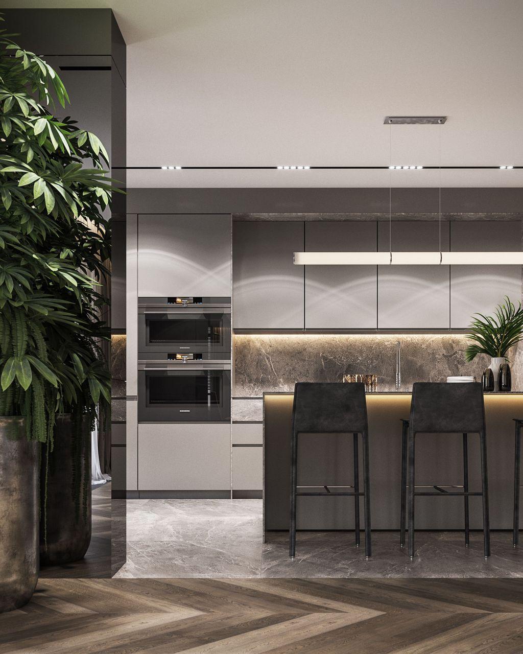 Wonderful Contemporary Kitchen Design Ideas 23