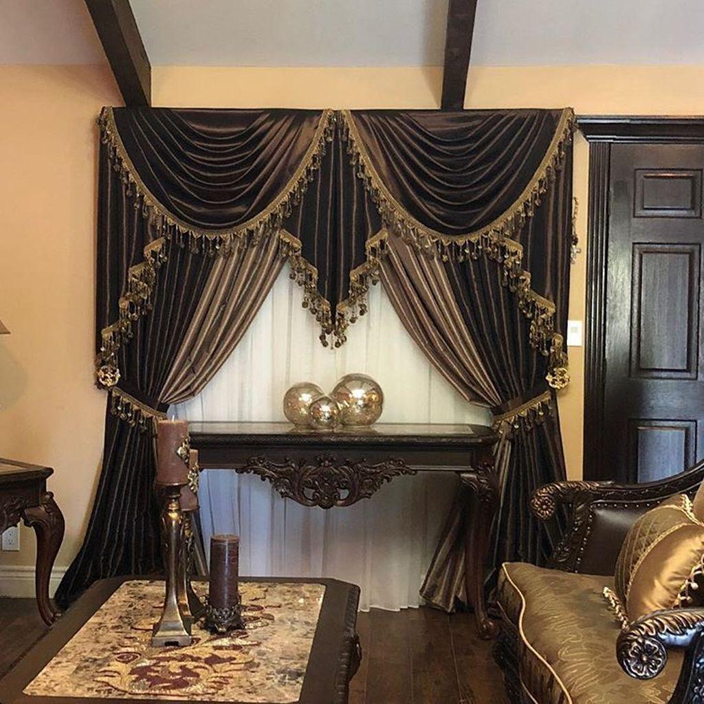 Wonderful Elegant Curtains Ideas For Living Room Decor 04