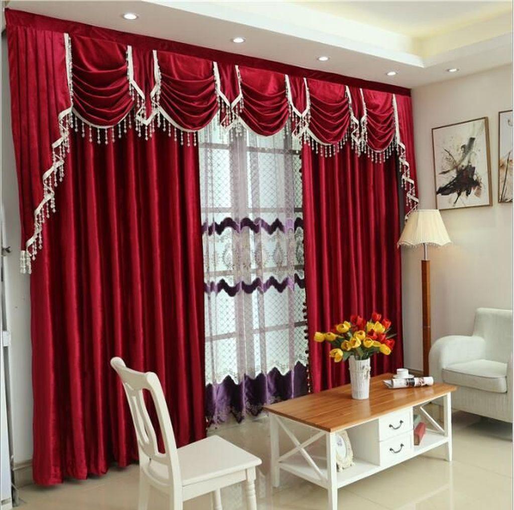 Wonderful Elegant Curtains Ideas For Living Room Decor 13