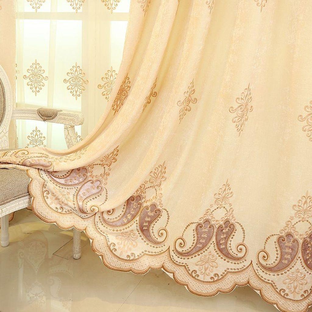 Wonderful Elegant Curtains Ideas For Living Room Decor 14