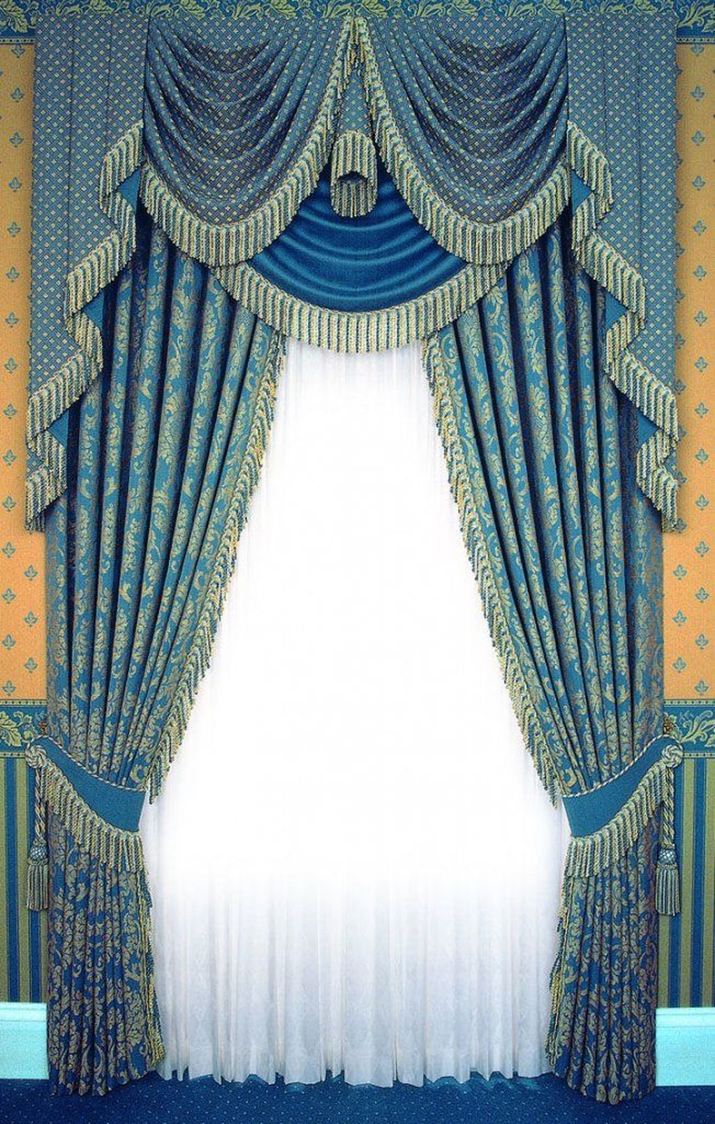 Wonderful Elegant Curtains Ideas For Living Room Decor 26