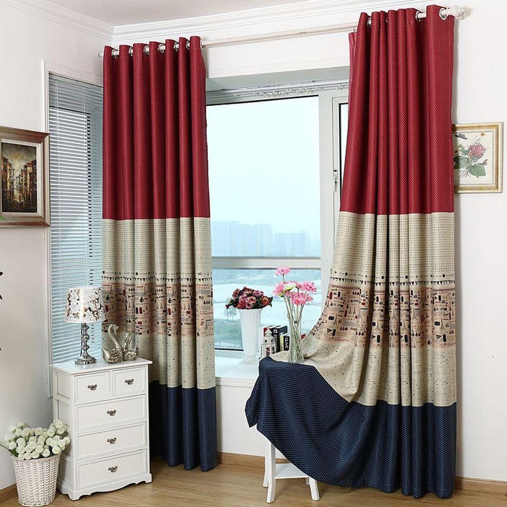 Wonderful Elegant Curtains Ideas For Living Room Decor 34