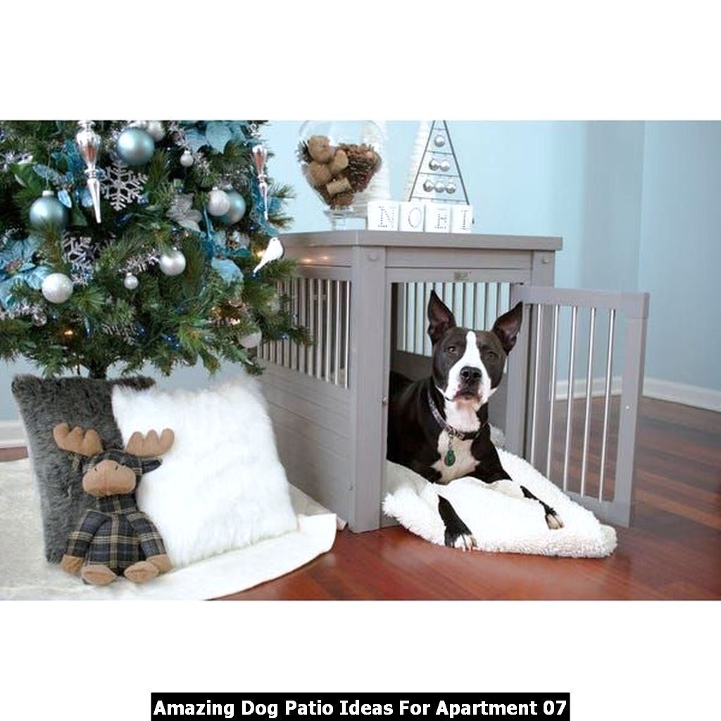 Amazing Dog Patio Ideas For Apartment 07