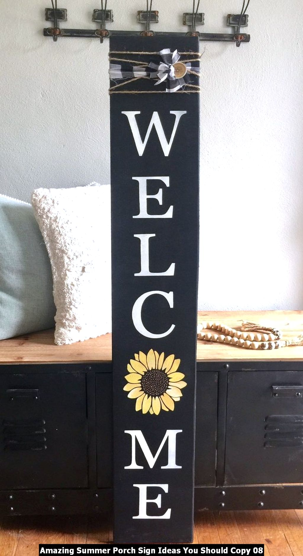 Amazing Summer Porch Sign Ideas You Should Copy 08