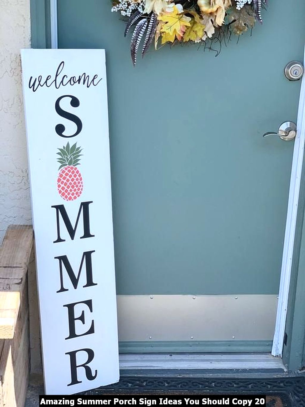 Amazing Summer Porch Sign Ideas You Should Copy 20