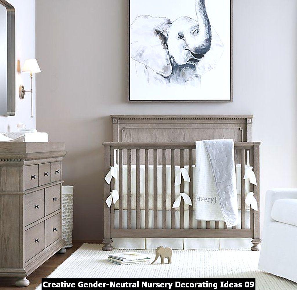 Creative Gender Neutral Nursery Decorating Ideas 09