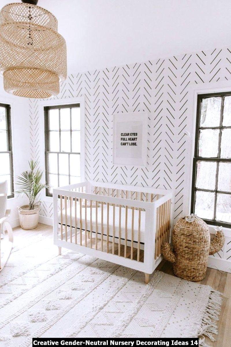 Creative Gender Neutral Nursery Decorating Ideas 14