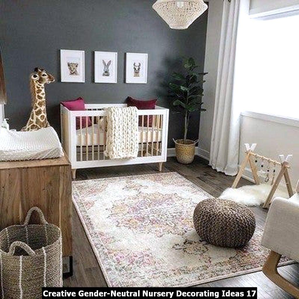 Creative Gender Neutral Nursery Decorating Ideas 17