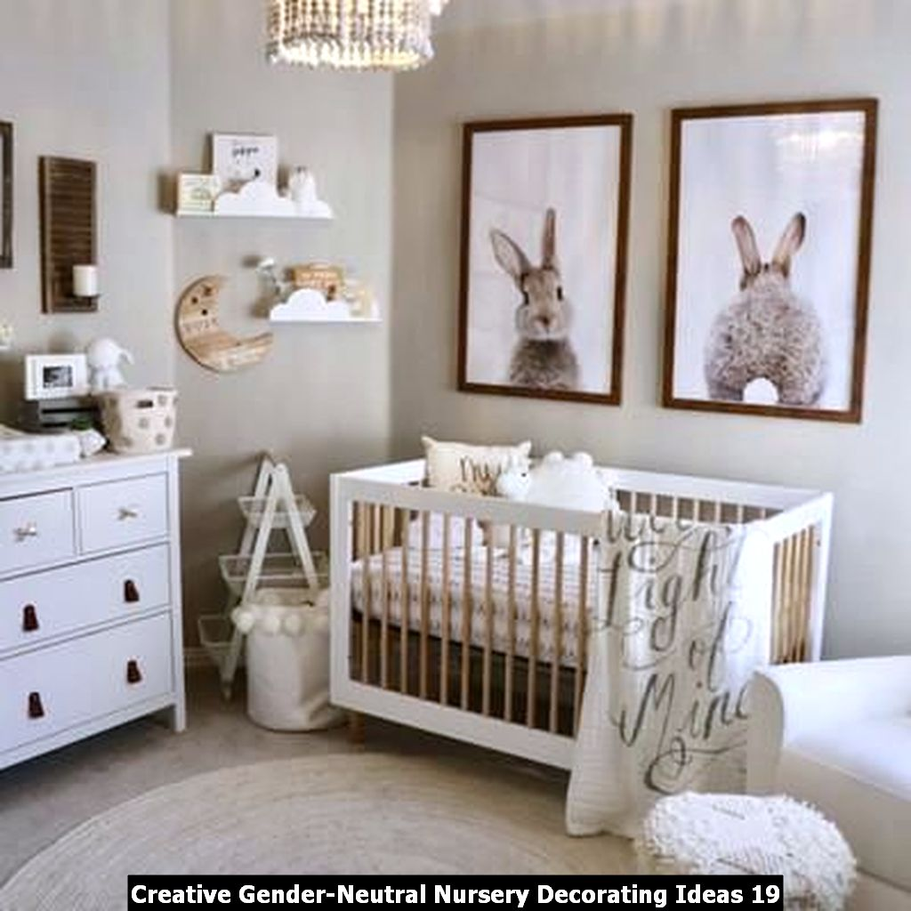 Creative Gender Neutral Nursery Decorating Ideas 19