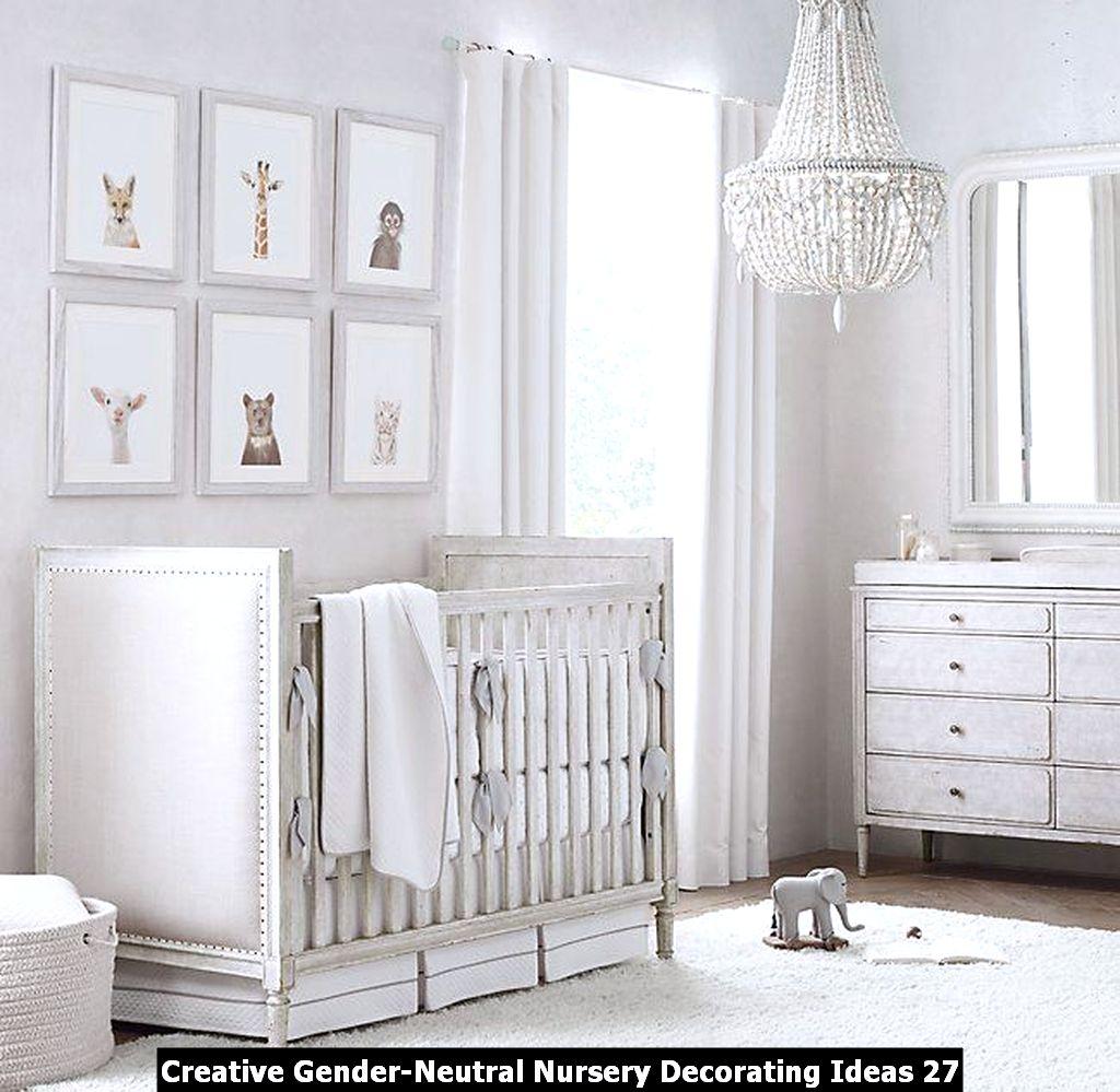 Creative Gender Neutral Nursery Decorating Ideas 27