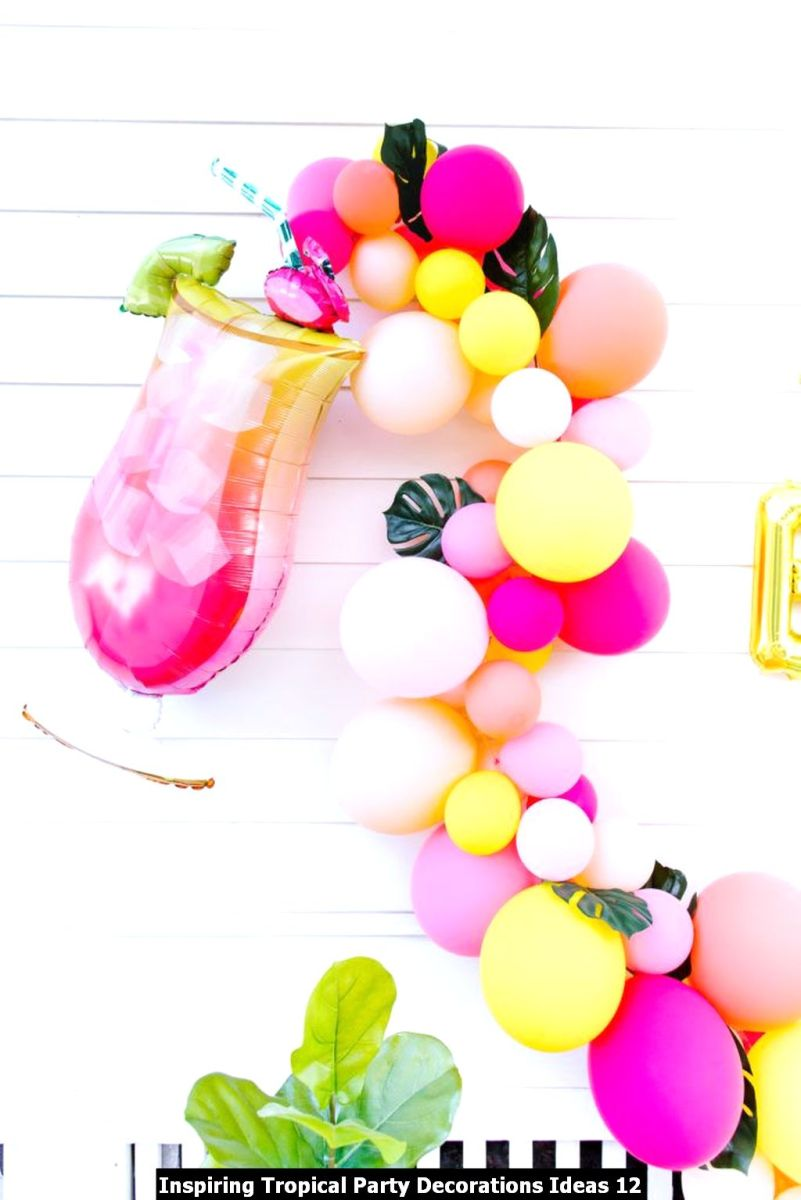 Inspiring Tropical Party Decorations Ideas 12