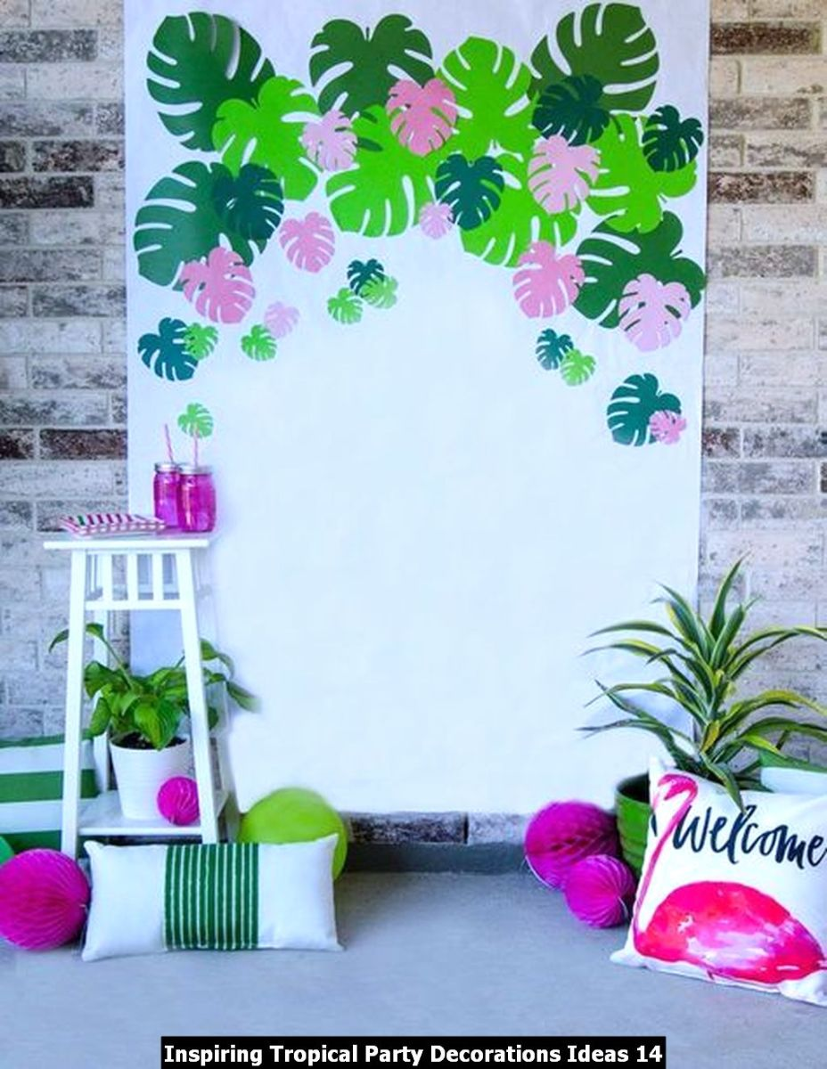 Inspiring Tropical Party Decorations Ideas 14