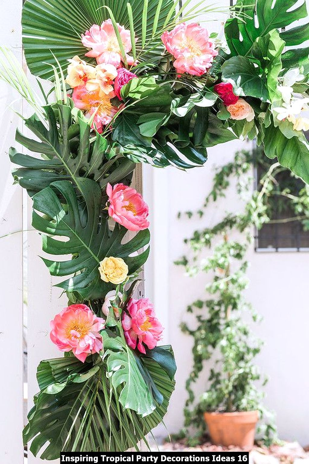 Inspiring Tropical Party Decorations Ideas 16