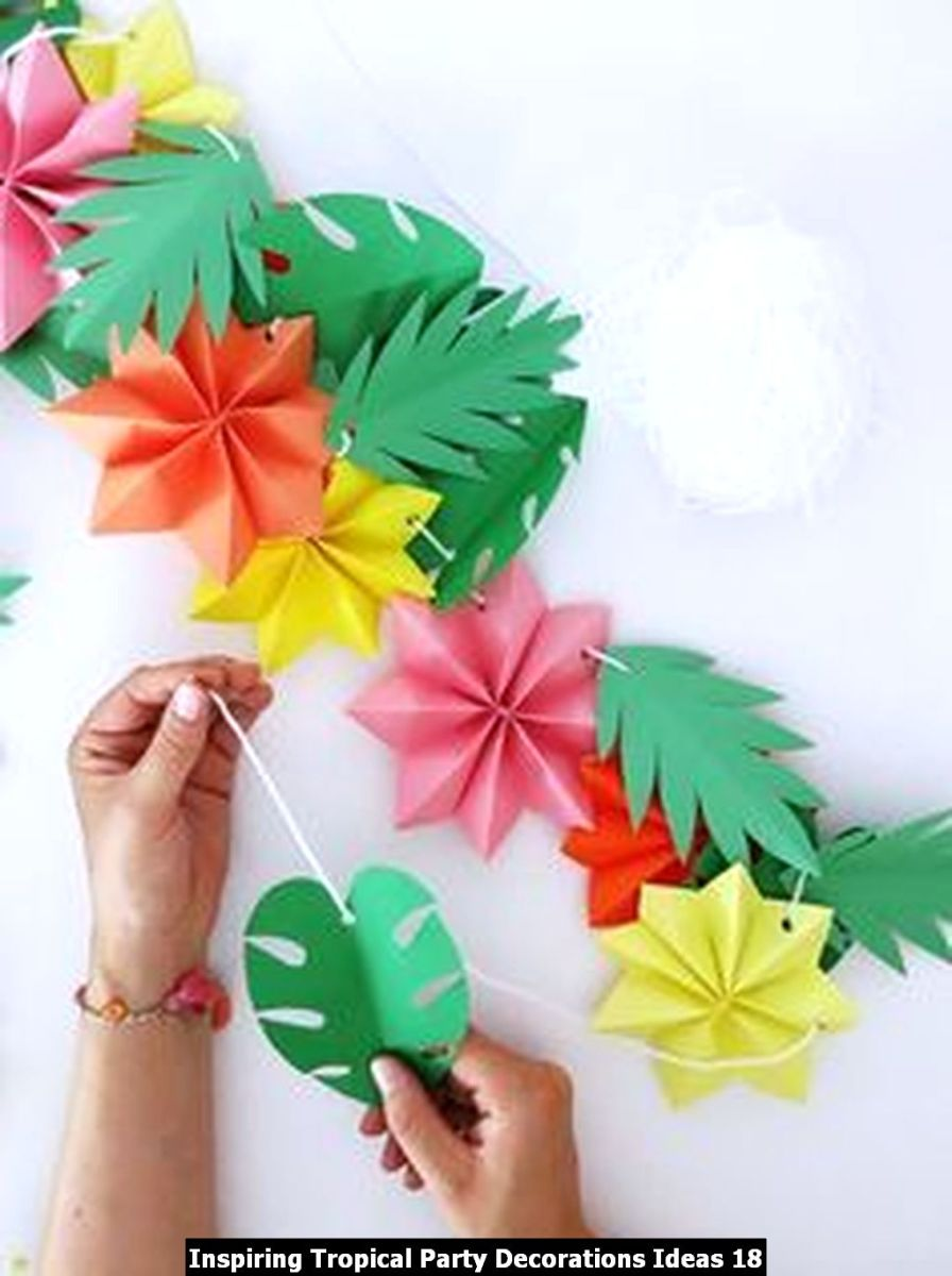 Inspiring Tropical Party Decorations Ideas 18