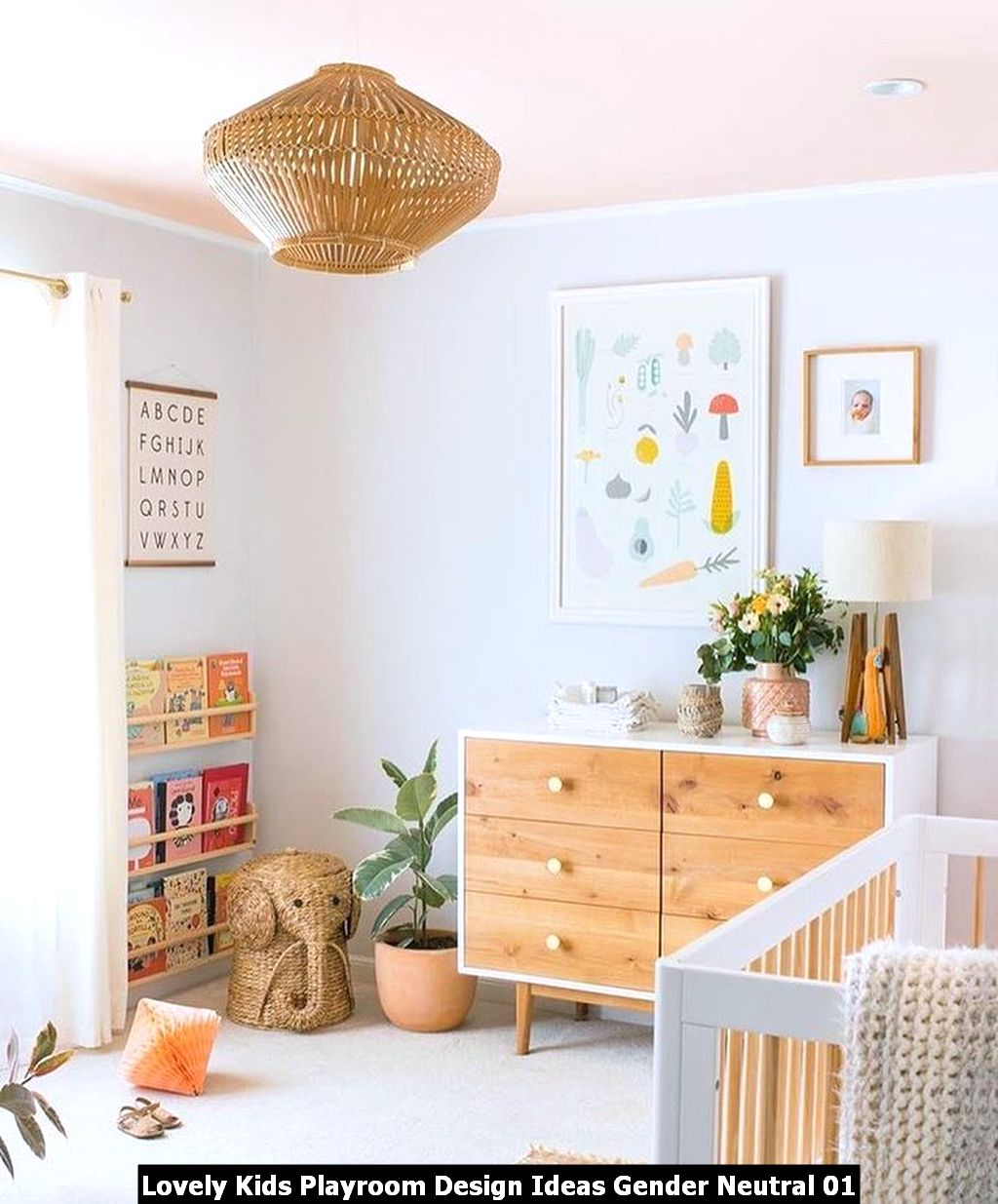 Lovely Kids Playroom Design Ideas Gender Neutral 01
